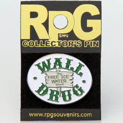 Wall Drug Hat Tack--The Free Ice Water Store