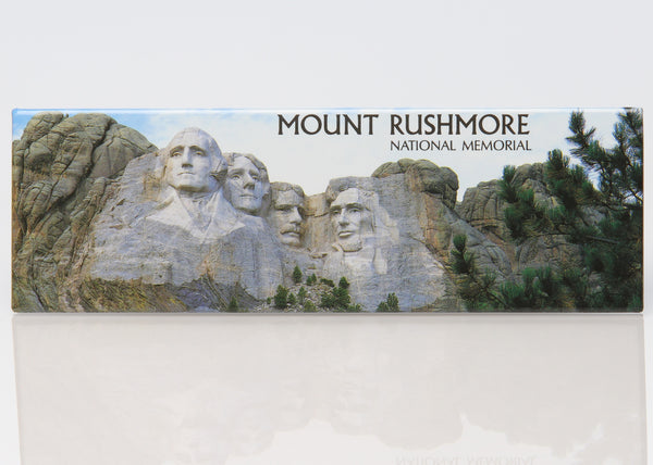 Mount Rushmore Panoramic Magnet