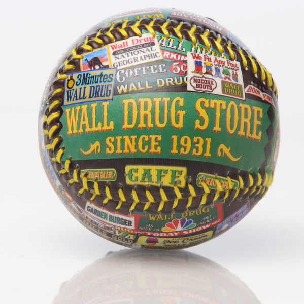 Wall Drug Billboard Baseball - Wall Drug Store
