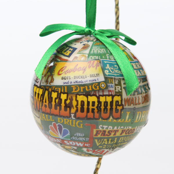 Wall Drug Billboard Ornament