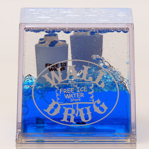 Wall Drug Floating Ice Water Paperweight