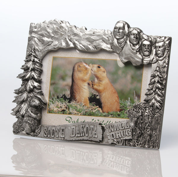 Mount Rushmore Pewter-Look Frame - Wall Drug Store