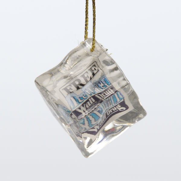 Wall Drug Ice Cube Ornament - Wall Drug Store