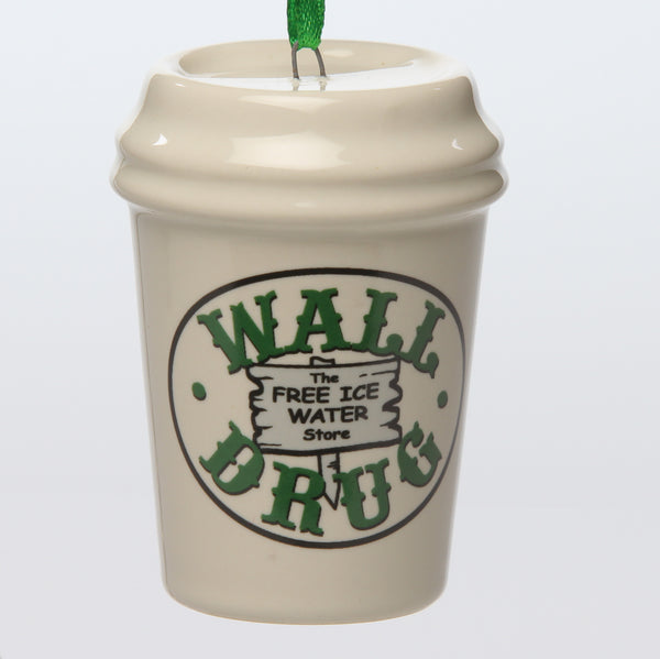 Wall Drug Cup Ceramic Ornament - Wall Drug Store