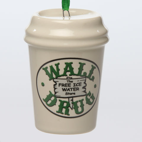 Wall Drug Cup Ceramic Ornament