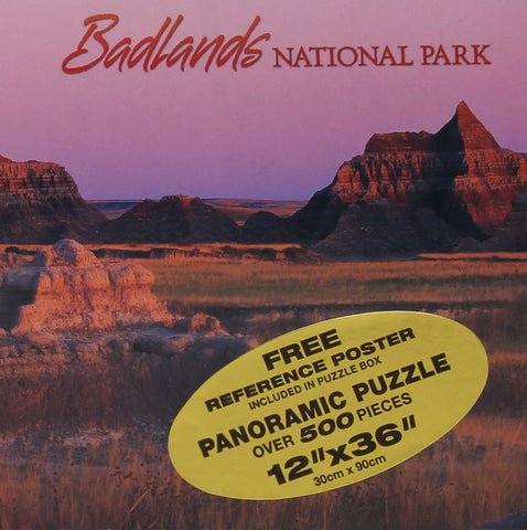 Badlands Panoramic Puzzle - Wall Drug Store