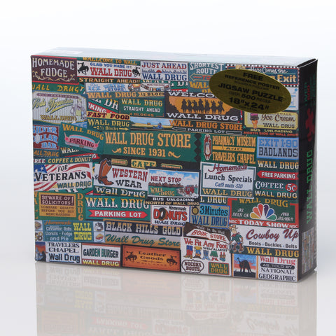 Wall Drug Billboard Puzzle