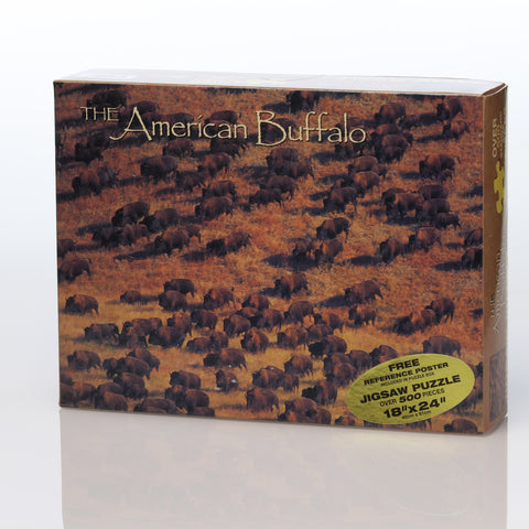 The American Buffalo Puzzle - Wall Drug Store