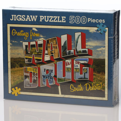 Greetings from Wall Drug Puzzle - Wall Drug Store