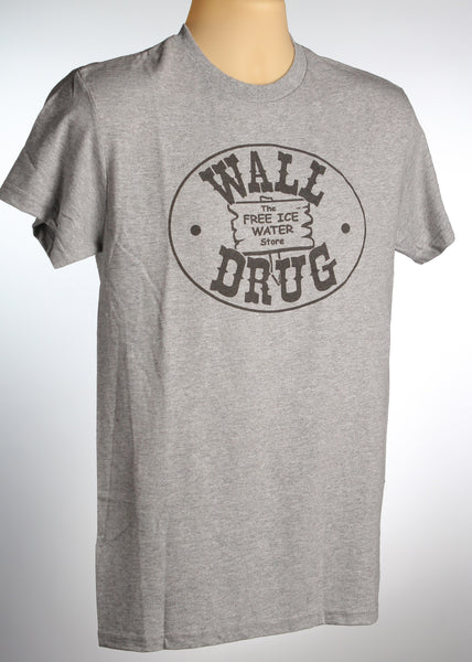 Free Ice Water Grey T-Shirt - Wall Drug Store