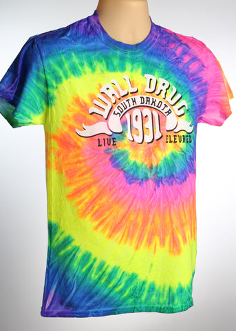 Tie-Dye Wall Drug T-Shirt