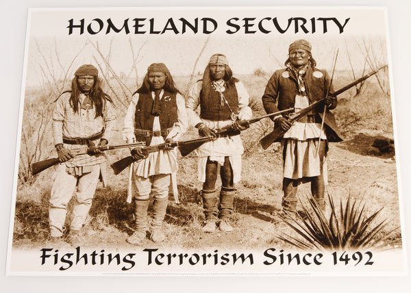 Homeland Security Poster - Wall Drug Store