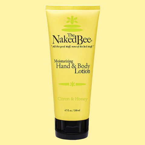 The Naked Bee Moisturizing Hand & Body Lotion 6.7 oz. Citron & Honey - Wall Drug Store