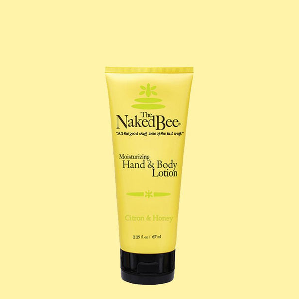 The Naked Bee Moisturizing Hand & Body Lotion 2.25 oz. Citron & Honey - Wall Drug Store