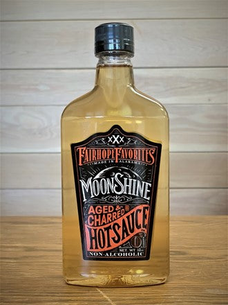 Fairhope Favorites Moonshine Hot Sauce 12 oz. Aged & Charred - Wall Drug Store