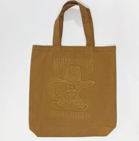 Wall Drug Cowboy Camel Canvas Tote Bag - Wall Drug Store