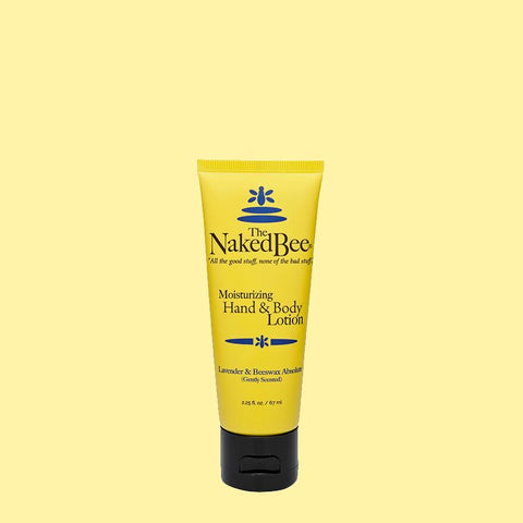 The Naked Bee Moisturizing Hand & Body Lotion 2.25 oz. Lavender & Beeswax Absolute - Wall Drug Store