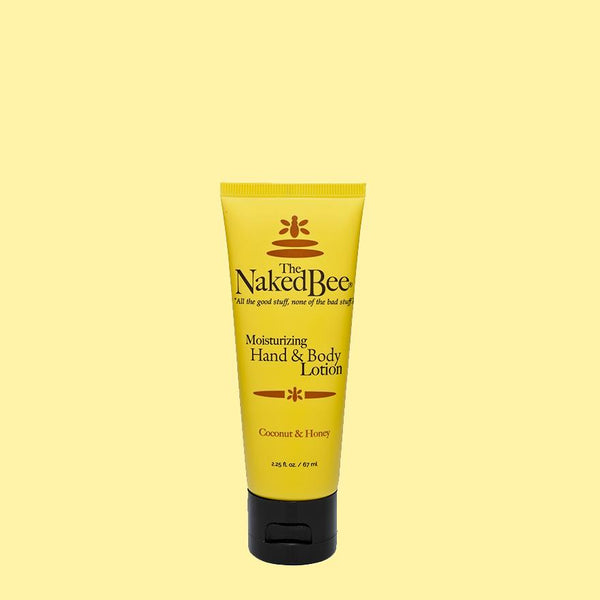 The Naked Bee Moisturizing Hand & Body Lotion 2.25 oz. Coconut & Honey - Wall Drug Store