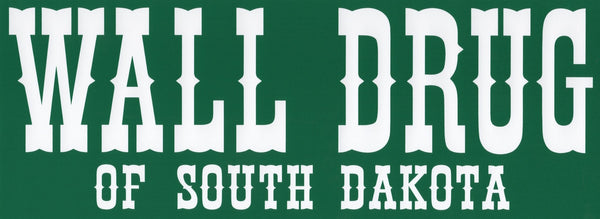 Wall Drug Bumper Sticker - Wall Drug Store