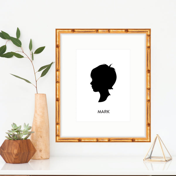Custom Silhouettes from Photographs