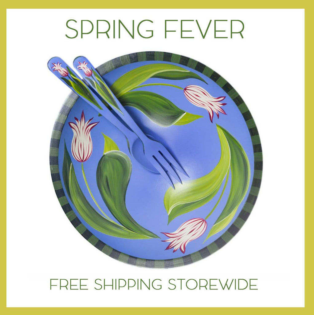 Spring Fever + Free Shipping!