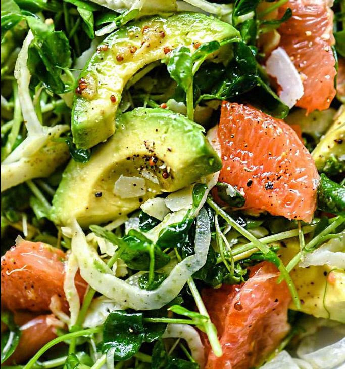 Avocado, Grapefruit and Fennel Salad