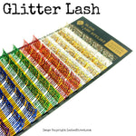 Glitter Eyelash Extension Lash Tray -Blink