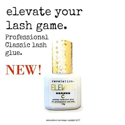 Elevate Classic Eyelash Extension Glue- by Revelation.