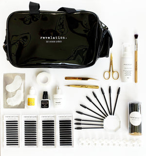 Load image into Gallery viewer, Blink Eyelash Extensions Eyelash Extension Kits Eyelash Extension Starter Kit- Necessities