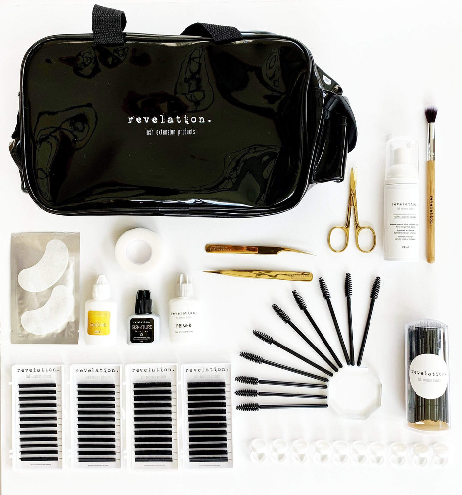 Eyelash Extension Starter Kit- INCLUDES A FREE ONLINE LASH EXTENSION STARTER TRAINING COURSE!