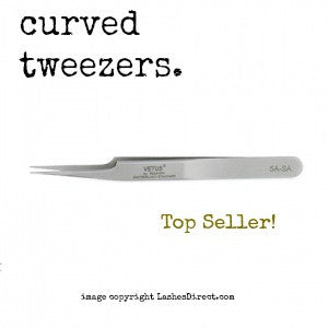Vetus 5A-SA Tweezers for Eyelash Extensions A top seller