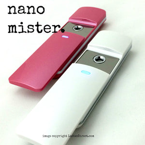 Nano Mister used to cure eyelash extension adhesives / glues.