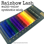 Rainbow Lash Tray Multi-Colored Lash Variety Tray -Blink