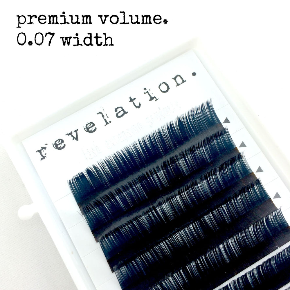 Load image into Gallery viewer, Revelation .07 width Volume Eyelash Extension Tray
