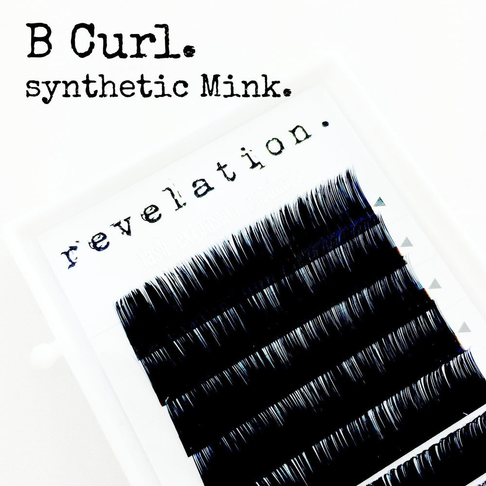 B Curl Lashes by Revelation