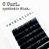 Revelation brand C Curl Synthetic Eyelash Extensions
