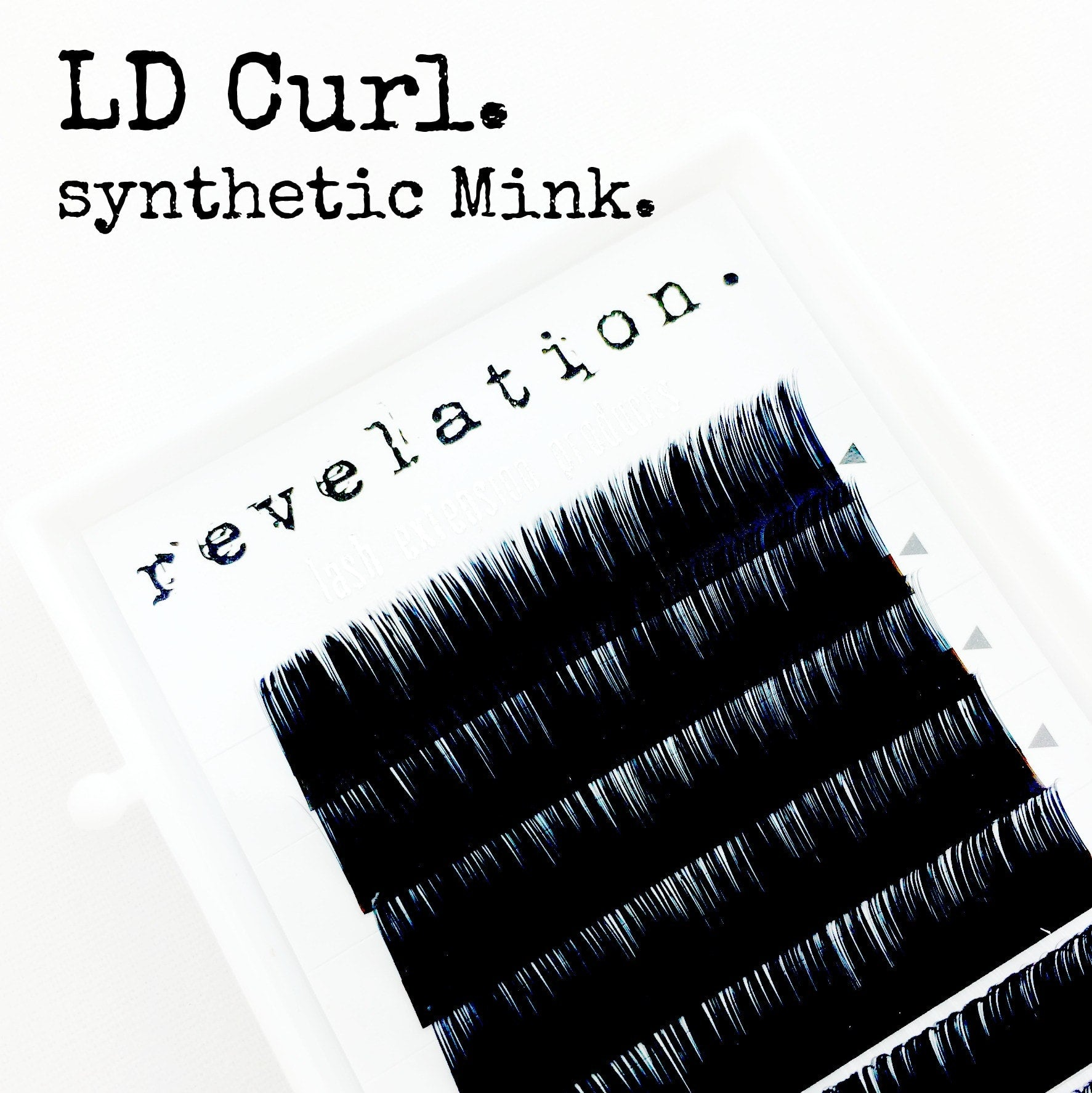 LD Curl Revelation Synthetic Mink Eyelash Extensions