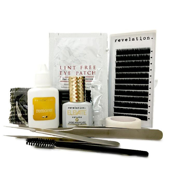 Eyelash Extension Kit- Simplified.