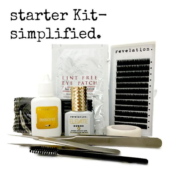 Lash Extension Starter Kit- Simplified.