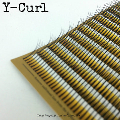 Y Lash Eyelash Extension Lash Tray- Blink C CURL ONLY!