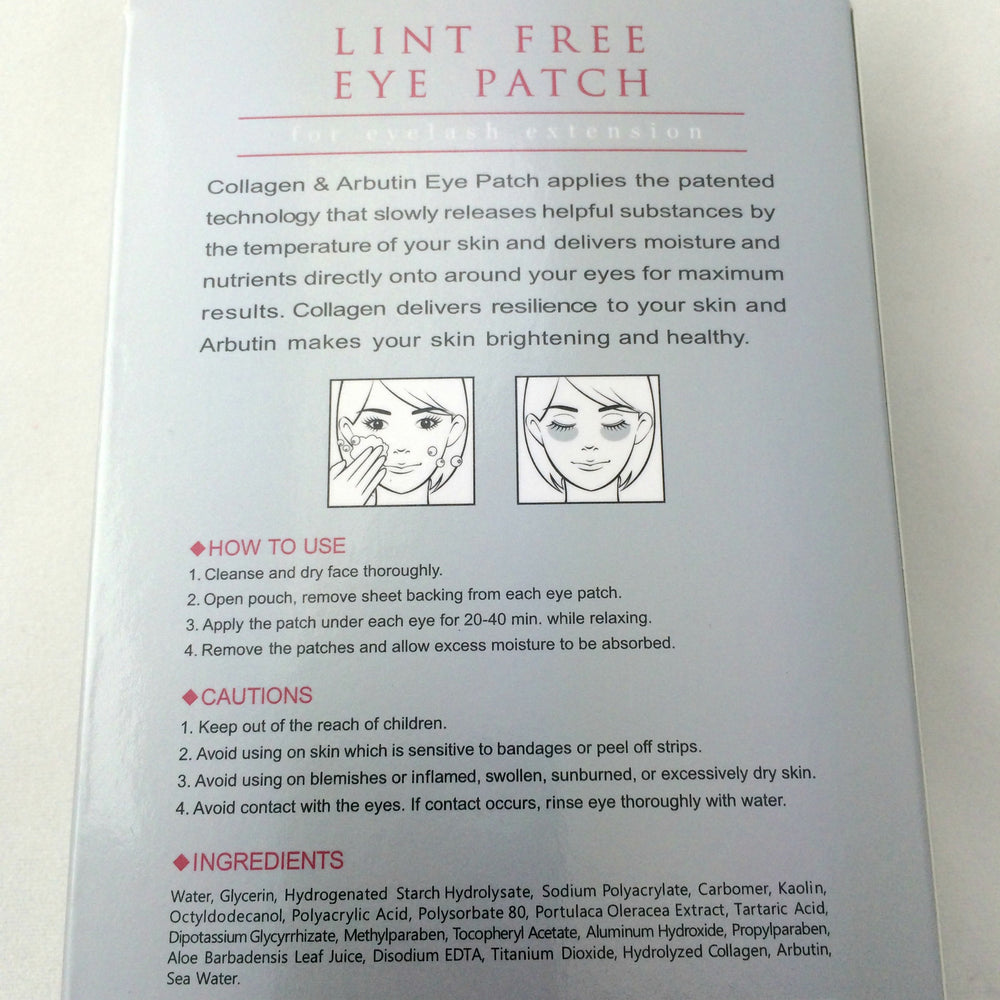 Lint-Free Eye Patch/ Eye Pads- for Eyelash Extensions (NEW- 10 pack)