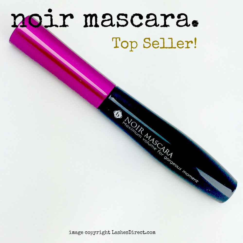 Mascara for eyelash extensions.  Oil Free mascara allows you to apply even with eyelash extensions!