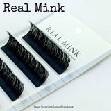 100% Real Mink Lash Extension Tray. Cruelty Free Eyelash Extensions