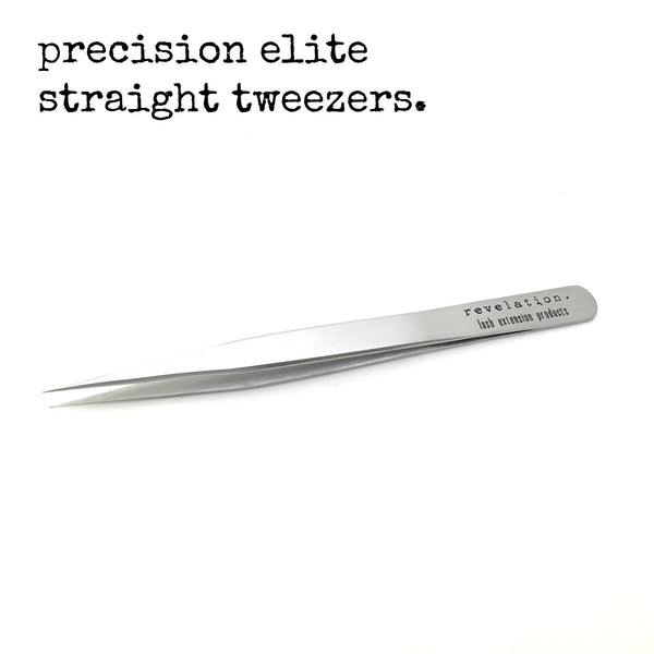 Precision Elite Straight Eyelash Extension Tweezers