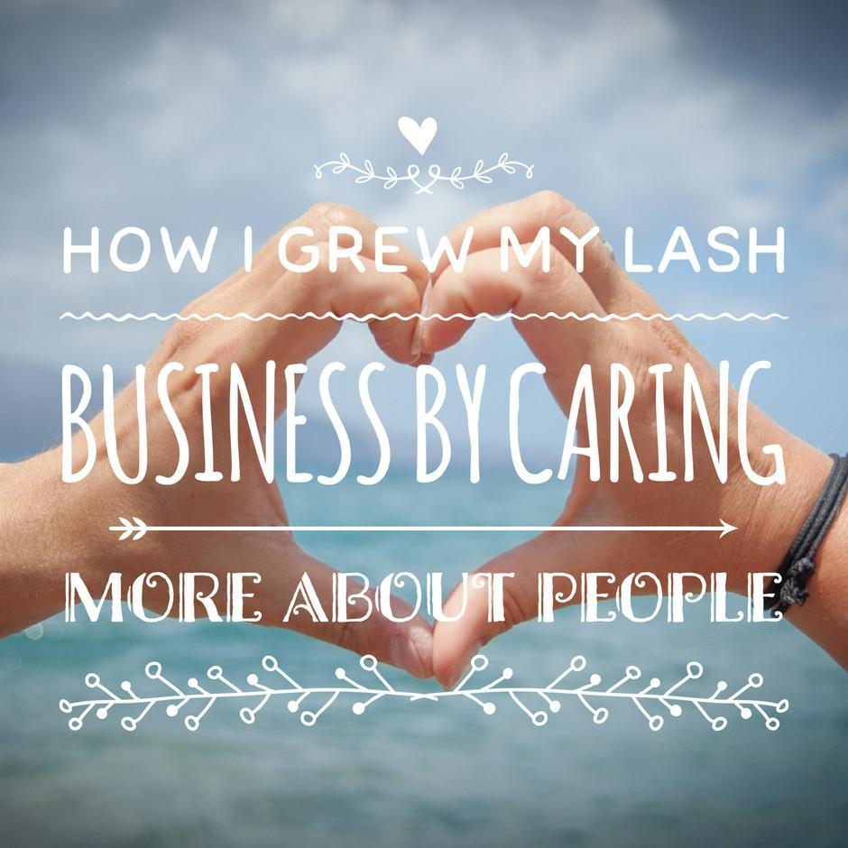 Blog Post: How I grew my Lash Business