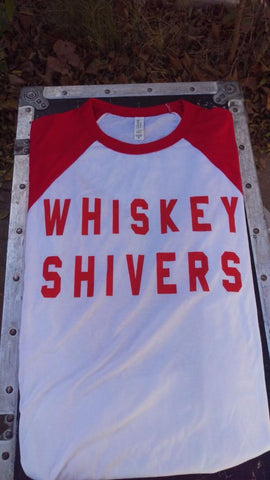 Whiskey Shivers Raglan Shirt