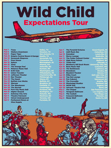 Wild Child Expectations Tour Poster