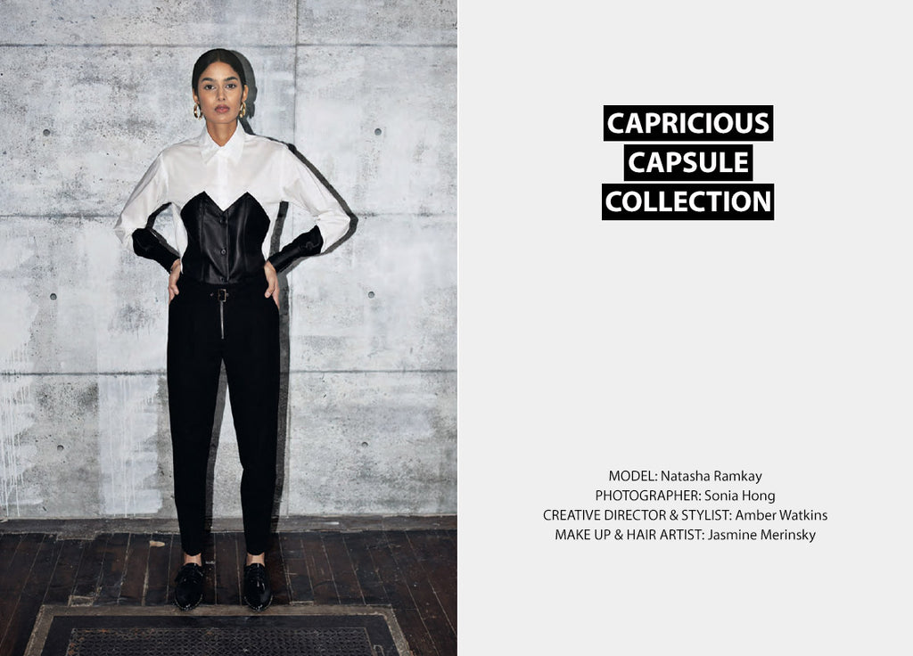capricious capsule uncuffed collection