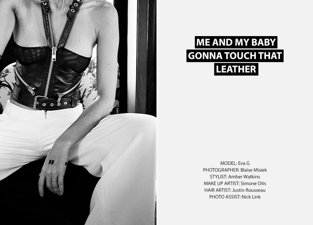 Touch My Leather Uncuffed Collection Lookbook
