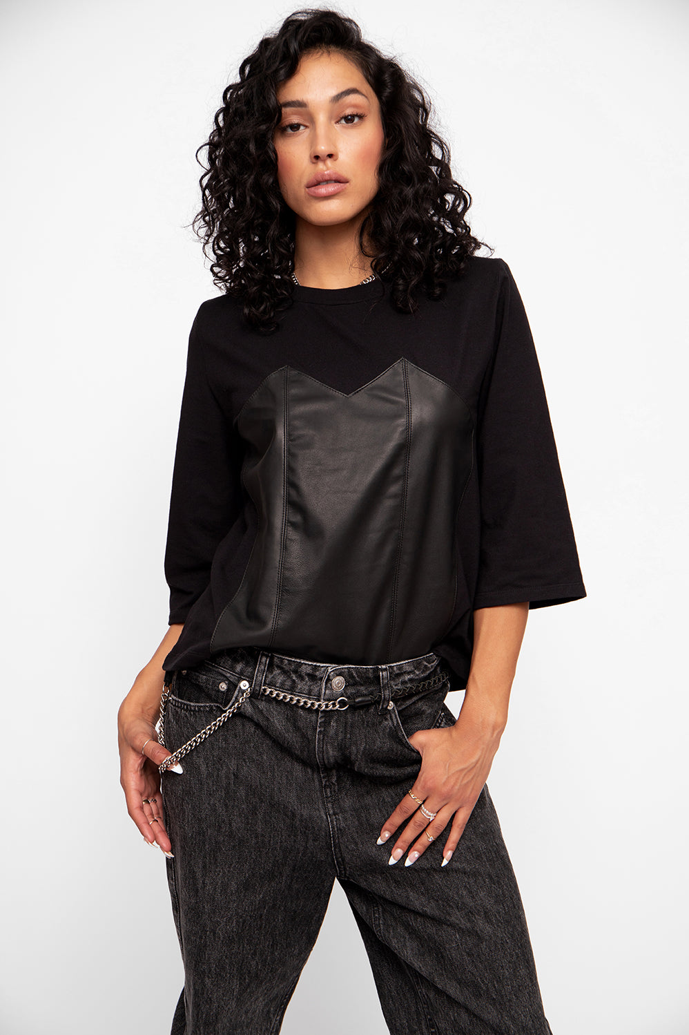 JUST IN: Corset Tee